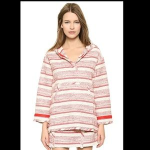 Thakoon Addition Novelty Tweed Hooded Pullover